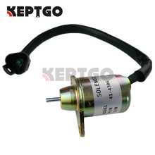 Stop Solenoid 12V For Yanmar 482, 4.82, 4,82   4TNE84, 486 Thermo King , 41 4306 1503ES 12S5SUC11S, 41 6383, SA 4920, SA 4561