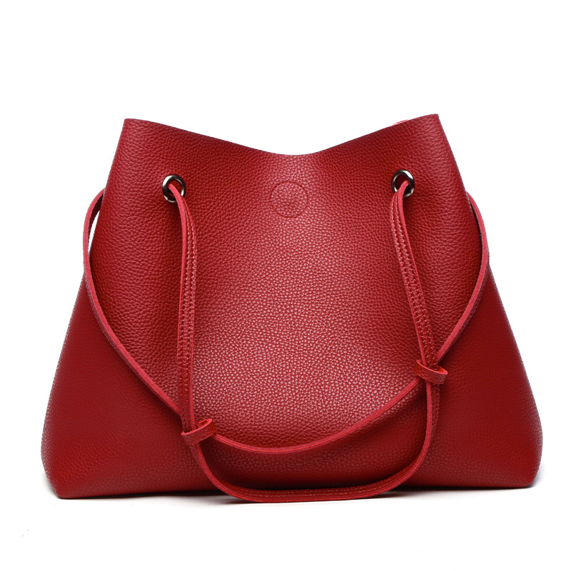 High Capacity Pu Leather Travel Hangbag Women Tote Bag With Cell Phone Pocket Wallet Purse Messenger Shoulder Bag Storage Bag butterfly pu leather pouch bag for cell phone gadgets orange