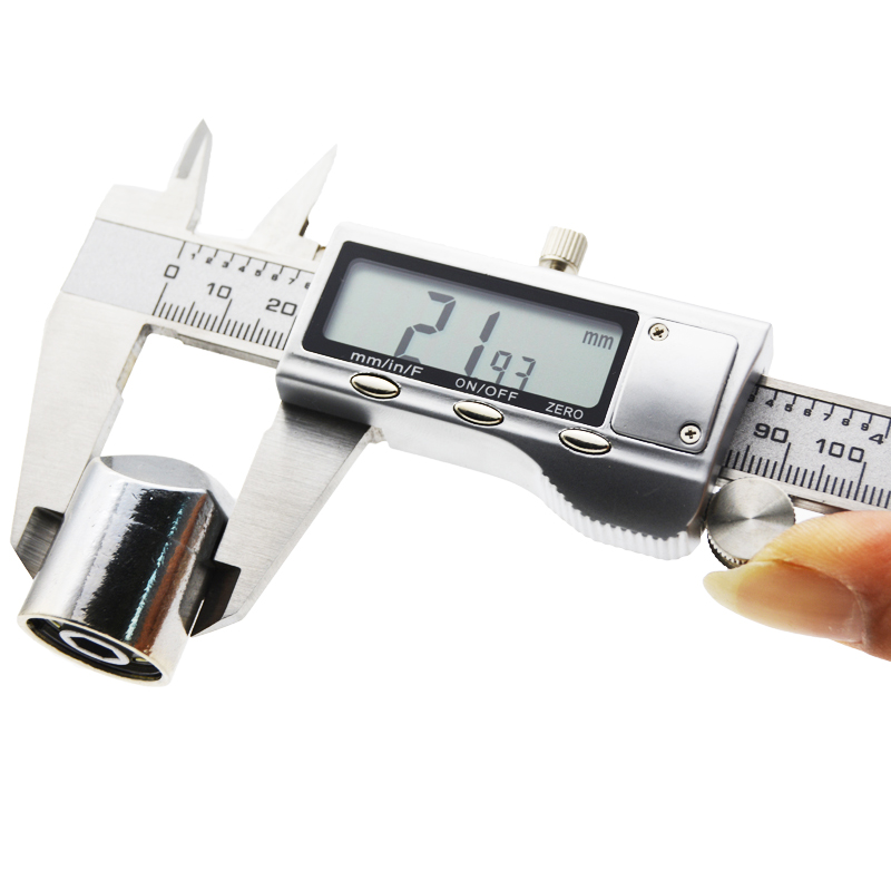 aço inoxidável vernier caliper calibre micrômetro ferramenta de medição pinças digitais