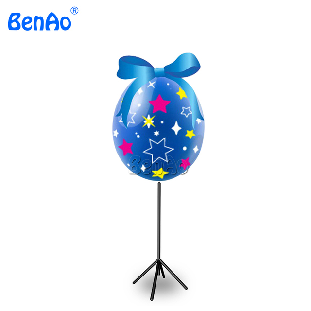 AA056 LED Lighting Up Inflatable Balls,Night Air Balloons,Advertising LED Tripod Stand Lighting Balloon for Night