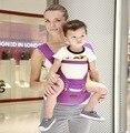 Cuatro Posiciones de Algodón Del Portador de Bebé Infantil Mochila para 0-36 Meses para Niños Carro de Bebé Niño Wrap Sling Tirantes