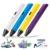 Inteligente 1.75mm ABS/PLA 3D DIY de Graffiti Impresión 3D Pluma Pluma de Dibujo Pintura Pluma Mango + Filamento + adaptador Para Niños de Diseño Creativo