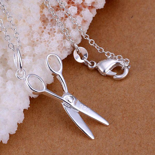 P102_2 Lijep privjesak u srebrnoj boji za žene na veliko Besplatna dostava 925 šarma božićne modne nakit ogrlice