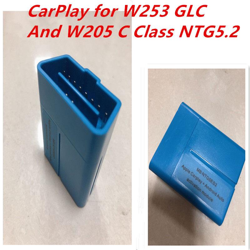 2018 MB NTG5ES2 NTG5 2 Apple CarPlay Androidauto Activation via OBD W205  C-class W253 GLC Free Shipping