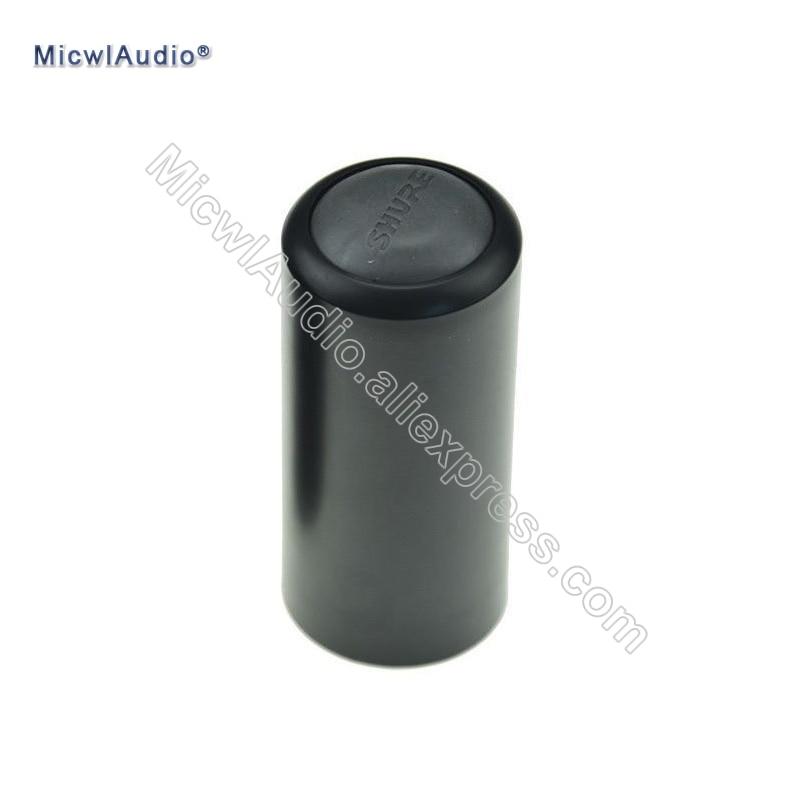 Screw On Cap Black Handheld Microphone Cover Cup For Shure PGX2 PGX4 SLX4 SLX2 BETA58 SM58 Wireless Replacement SLX PGX 1 Pcs
