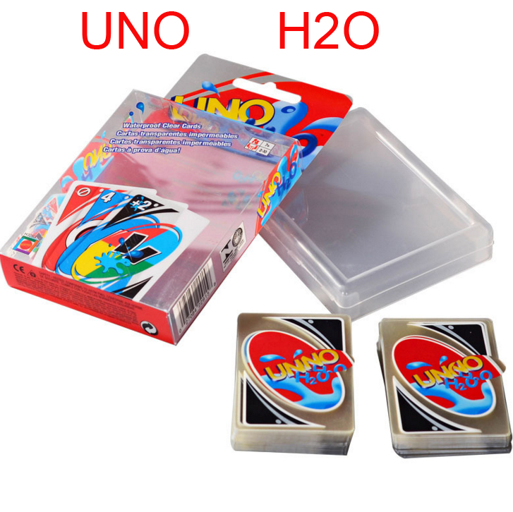 New Waterproof H2O Game Playing Card For Family Friends Party FunNew Waterproof H2O Game Playing Card For Family Friends Party Fun