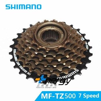 SHIMANO rower górski nowy 14-28 T 7 prędkości kaseta z szosowe koła zamachowego karta rowerowa obracające się części MF-TZ500