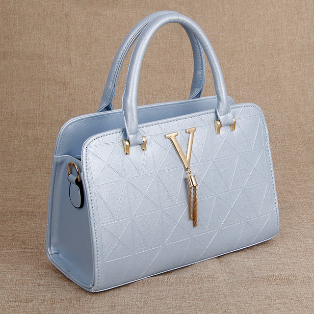 2017 New Fashion Leather Bag Hand Bag Ladies Tote Shoulder Bag Handbags Women Famous Brands Bag PU Chain Square Package Totes