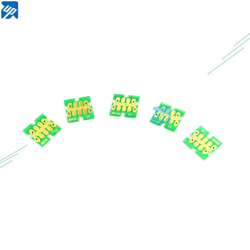 5sets One time chip For Epson T3000 T5000 T7000 T3200 T5200 T7200 T3070 T5070 T7070 T3270