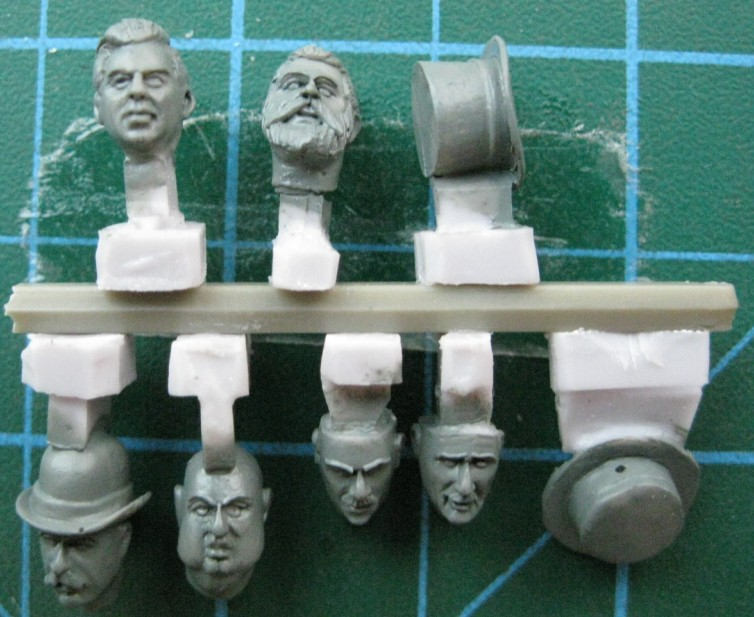 1:35   WWII British Troops Head (6 Figures)03