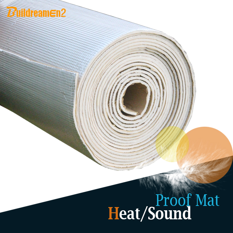Buildreamen2 72 X 40 180CM X 100CM Car Heat Proofing Sound Control Insulation Mat Material Pad