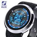 Relojes Hombre Xingyunshi superfície preta 2016 Mens Watch 30ATM à prova d' água Digital-Relógio Relógio Top de Luxo Da Marca Homens Relógios De Pulso