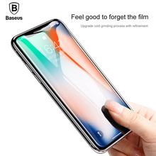 Baseus Silk Front Tempered Glass For iPhone X 0.3mm Full Cover Ultra Thin Scratch Proof Screen Protector Film