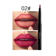 12 Color Lipstick Long Lasting Makeup Red Lip Matte Lip Stick Lips Liner Double Ended Waterproof Mate Nude Make Up Matt Lipstick plus size 10xl 9xl 8xl mens jackets spring autumn casual solid color coats mens sportswear slim jackets male bomber jackets