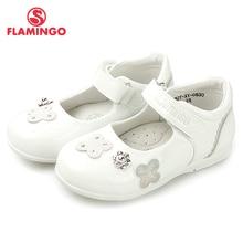 Новые дизайнерские весенне-летние туфли на липучке с фламинго, размеры 24-29, школьная обувь для девочек,, 82T-XY-0830