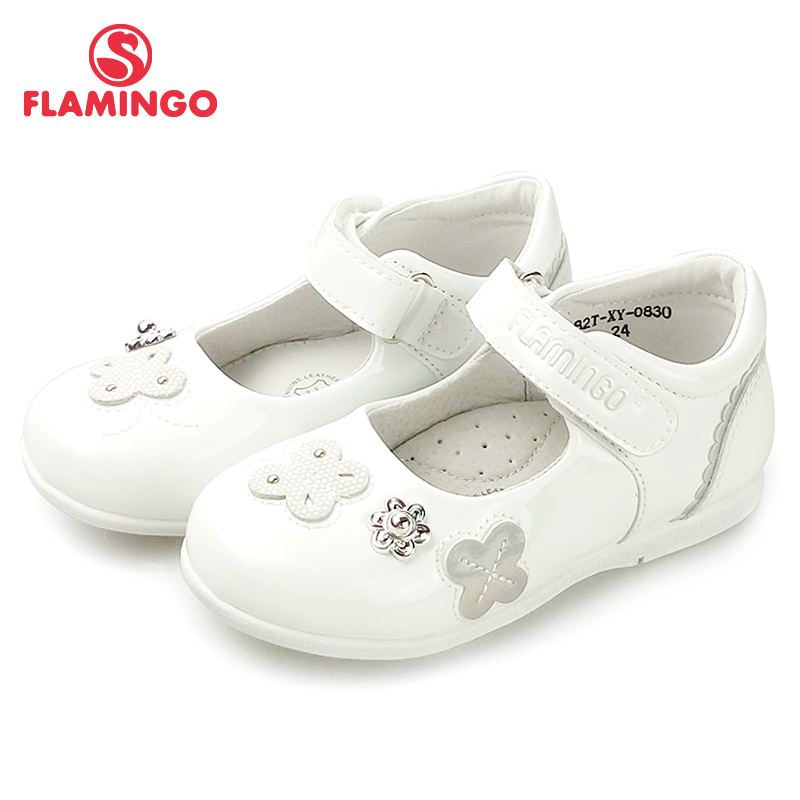 FLAMINGO New Foot Arch Design Spring& Summer Hook& Loop Outdoor Size 24-29 School Shoes For Girl Free Shipping 82T-XY-0830