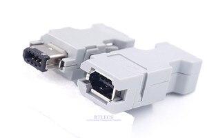 Image 2 - 5 uds hombre mujer IEEE 1394 6 pin enchufe SM 6E SM 6P Servo conector Cruz 55100 0670 54280 0609 de alambre de soldadura
