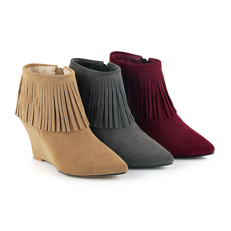 Popular Ladies Fringed Boots-Buy Cheap Ladies Fringed Boots lots ...