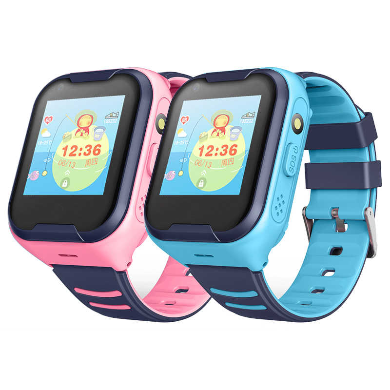 4G Full Netcom Children's Smart Watch Phone AI Voice Waterproof GPS Positioning Watch Video Call Smartwatch Reloj Inteligente