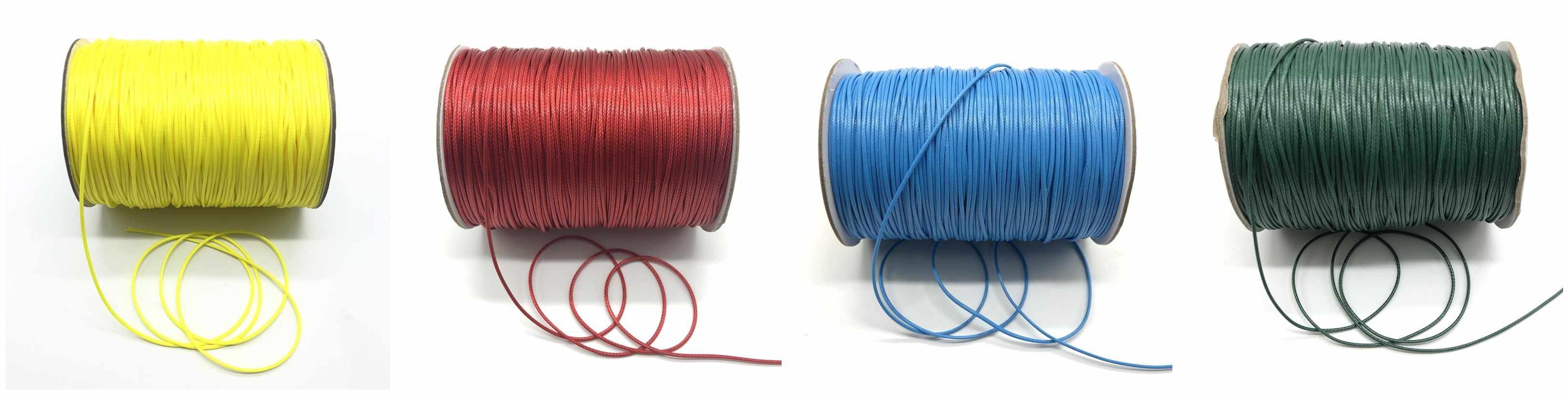 10 Meter/lot 1.0 Mm Wax Tali Benang String Tali Kalung Tali Bead untuk DIY Membuat Perhiasan Gelang Kalung