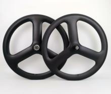 20 بوصة كامل الكربون 3 المتحدث 23 مللي متر عرض الفاصلة دراجة عجلات 451 ثلاثي تكلم العجلات الكربون ل الطريق الدراجة V الفرامل/القرص barke