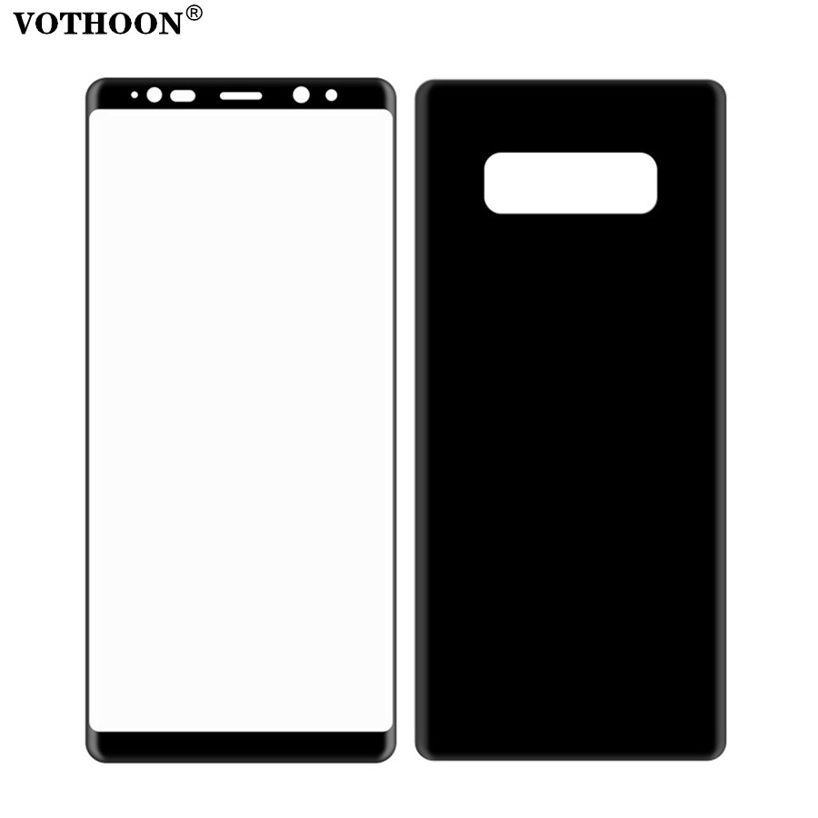VOTHOON Soft PET Glass For Samsung Galaxy Note 8 3D PET Full Cover Protector Screen For Samsung Galaxy Note8(Not Tempered Glass)