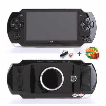 Free Shipping handheld Game Console 4.3 inch screen mp4 player MP5 game player real 8GB support for psp game,camera,video,e-book - DISCOUNT ITEM  19% OFF All Category