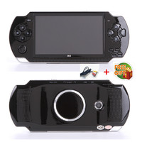 Free Shipping handheld Game Console 4.3 inch screen mp4 player MP5 game player real 8GB support for psp game,camera,video,e book