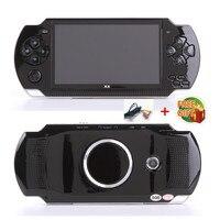 Livraison Gratuite de poche Jeu Console 4.3 pouce écran mp4 lecteur MP5 jeu real player 8 GB soutien pour psp jeu, appareil photo, vidéo, e-book