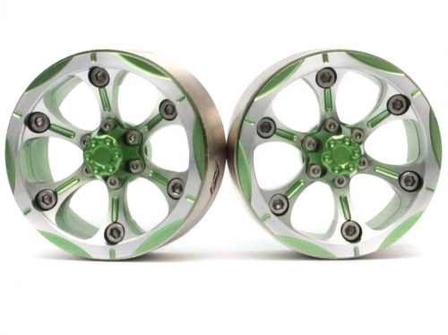 1 pair RACING EVO 1.9 Inch 6 .High Density Defence Tire BRW 760932 BG 48mm wheel hub for rc car