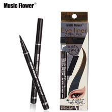1pcs Beauty Eye Makeup 5 Color Music Flower Brand Makeup Eyeliner Pen Long Lasting Waterproof Sweatproof Liquid Eye Line Pencil