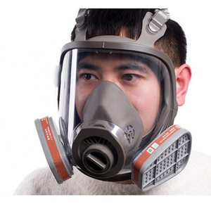 Image 4 - 6800 Full Face piece Gas Mask Respirator filters 2091 Chemical Industrial Protective Spraying Paint Weld Lab Dust proof