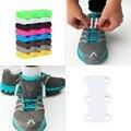 1 Par Magnético Novidade Ocasional Sneaker Sapato Fivelas de Fechamento Não-Tie Cadarço Nova venda Em Todo O Mundo
