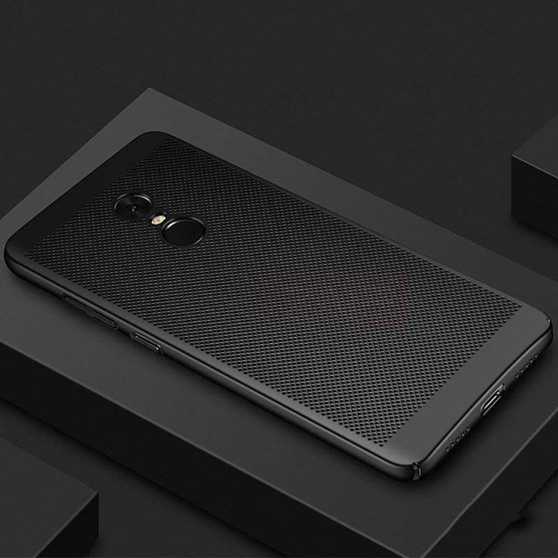 Ultrathin Mesh Hard Phone Case For Xiaomi Mi 5 6 5S 5C Plus 8 SE 5X 6X Mix 2 2S Max 3 Pro A1 A2 S Back Cover Merk Hoesjes Armor