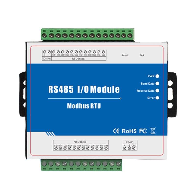 M340 Modbus RTD Remote I/O Modulo di Acquisizione Dati 8 Ingressi 12 ~ 36VDC RTD Con Anti-reverse protezioneM340 Modbus RTD Remote I/O Modulo di Acquisizione Dati 8 Ingressi 12 ~ 36VDC RTD Con Anti-reverse protezione
