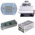 30 Вт 50 Вт COB 365nm 385nm 395nm 410nm УФ-отверждения системы Ультрафиолетовый высокой мощности COB светодиодный + Драйвер + радиатор + кулер + Отражатель об...