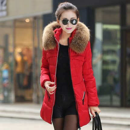 New Winter Collect Women cotton Coat Thickening Female long Warm down jacket Long Style Warm Winter Coat Women Big Size M~3XL winter jacket female parkas hooded fur collar long down cotton jacket thicken warm cotton padded women coat plus size 3xl k450