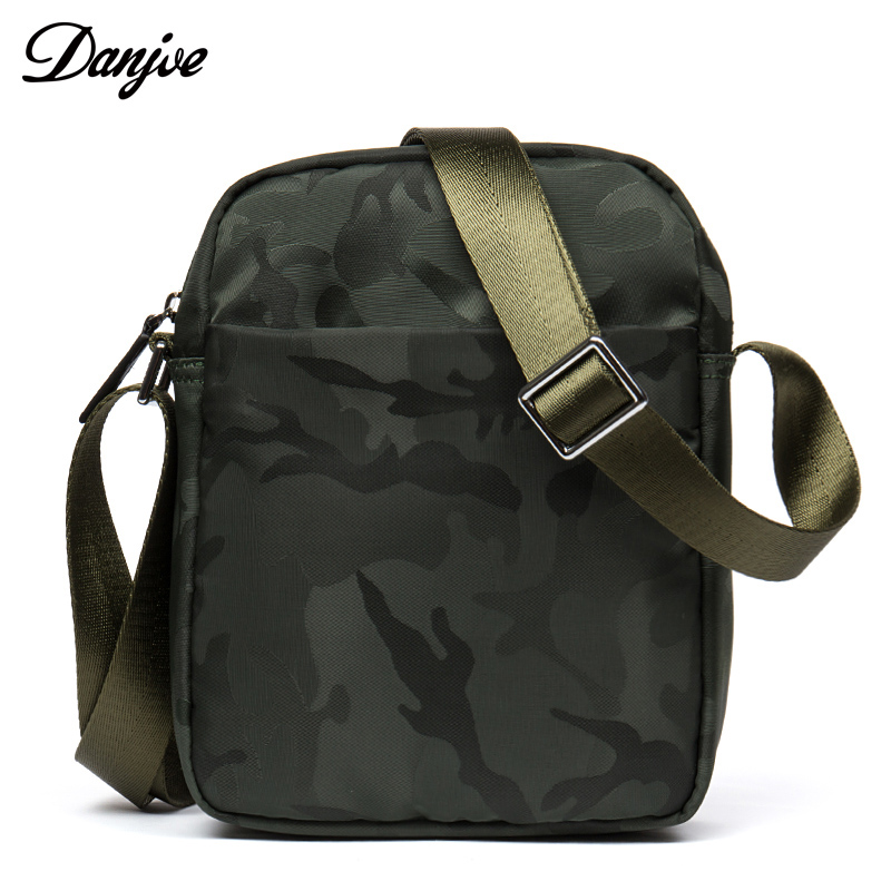 DANJUE Male Messenger Bag Waterproof Oxford Daily Shoulder Bag Military Style Small Crossbody Bag Casual High Quality Men Bag augur new men crossbody bag male vintage canvas men s shoulder bag military style high quality messenger bag casual travelling