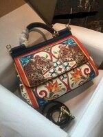 BH05205 100% из натуральной кожи роскошные Сумки Для женщин сумки дизайнер Crossbody сумки для Для женщин известный бренд взлетно посадочной полосы