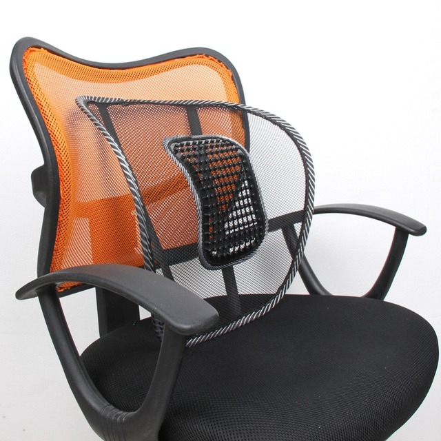 office chair comfort accessories hanging debenhams mesh net lumbar back brace support cojin home car seat cushion lombaire coussin relief