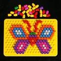 Sabiduría mágica placa de inserción con 180 unids Magia perlas combinación de inserción de disco placa sabiduría bloques de construcción de juguetes