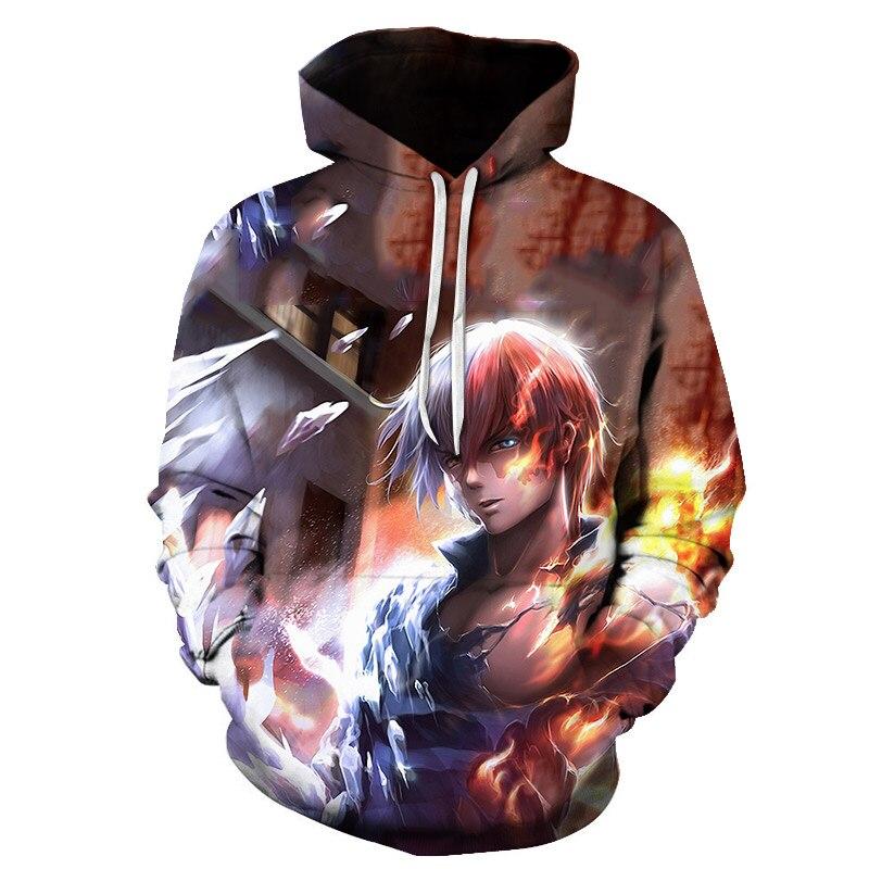 Battle Royale Game 3D Streetwear Hip Hop Warm Hooded Sweatshirts Casual Fashion Men Women Anime Cartoon Hoodie