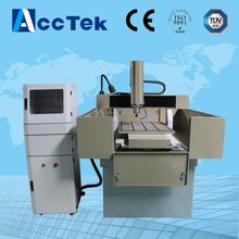 Good quality metal moulding cnc machine price Acctek AKM6060