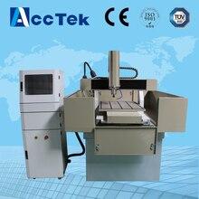 Good quality metal moulding cnc machine price Acctek AKM6060