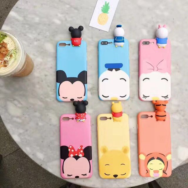 pretty nice 4a188 e8b71 US $3.48 |For Vivo V5 Plus Case Cartoon Mickey Daisy Donald Minnie Lying  Cute Silicone TPU Soft Case For Vivo V5 Y66 Y67 Back Covers Funda-in Fitted  ...