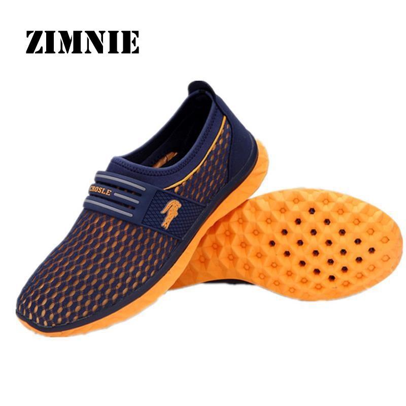 Aliexpress.com : Buy Cool Men Mesh Outdoor Quick Dry Shoes Slip On ...