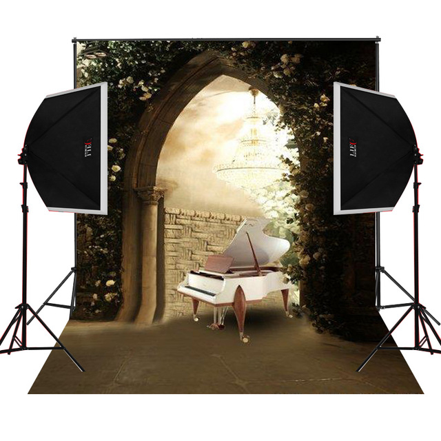 vintage piano stone door for wedding photo background backdrop studio camera fotografica digital props vinyl photography  sc 1 st  AliExpress.com : stone door group - pezcame.com