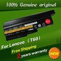 9 Cell 7800mAh Original Laptop battery for IBM Lenovo R60 R60e R61 R61e R61i T60 T60p T61 T61p R500 T500 W500 SL400 SL500 SL300
