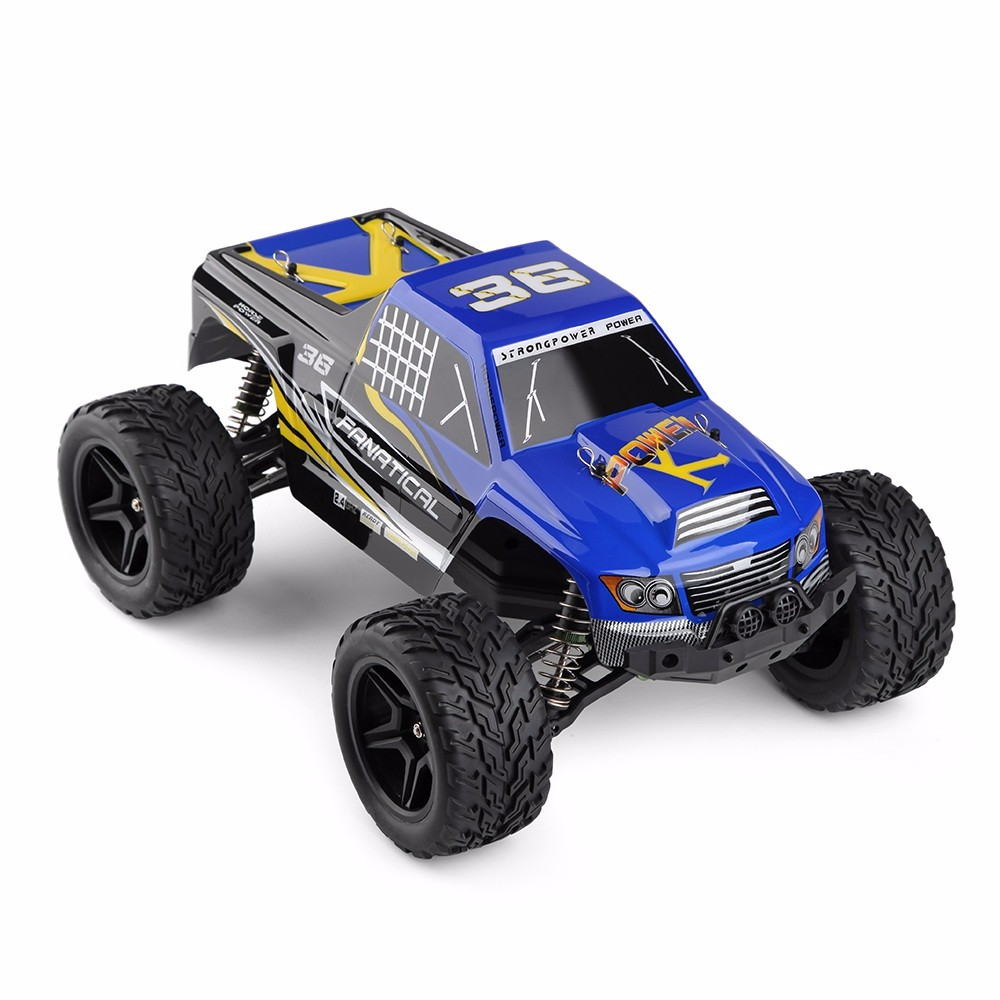 Wltoys A323 RC Car 1:12 Scale 4CH 2.4G 2WD Cars 30km/h High Speed Remote Control Car RTR Model Off-Road Vehicle Toy Best Gift rc electric toy car 1 24 l333 high speed off road buggy radio remote control rtr rock rover rc toy model child best gift toy