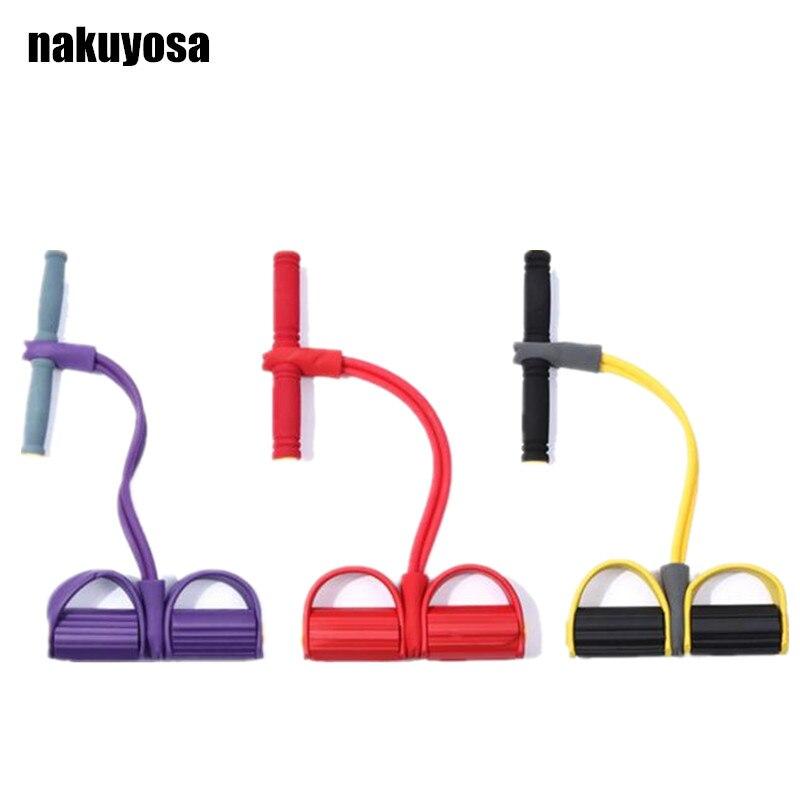 2 Трубки Сидіння Військові Ралі Йога Смуги Педаль Ралі Тонкі Талії Зменшення ваги Абдомінальне Головна Фітнес-обладнання